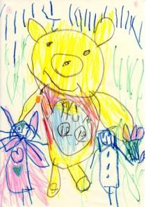 Pooh, Lili & Kenta  - Fall '02